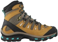 Wanderstiefel Quest 4D 2 GTX 390269 Salomon Shrew/Camel Gold LTR/Teal Blue