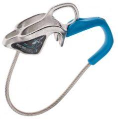 Blauwe Edelrid - MicroJul - Zekeringsapparaat grijs/blauw