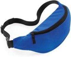 Merkloos / Sans marque Heuptasje/fanny pack blauw 38 x 14 x 8 cm festival musthave