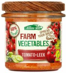 Allos Farm vegetables tomaat & prei 135 Gram