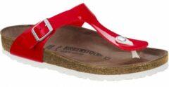 Rode Birkenstock Gizeh antraciet