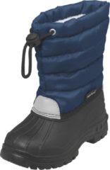 Playshoes Winterlaarzen met trekkoord Kinderen - Donkerblauw - Maat 20-21