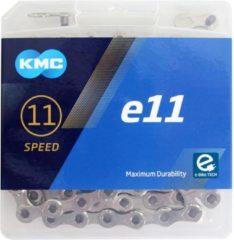 KMC KETTING E11 ZILVER 122L