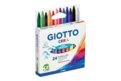 Pastelli a Cera Giotto 24 pezzi Fila
