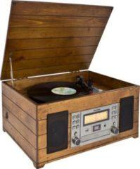 Karcher NO-038 Nostalgie Schallplattenspieler mit CD/MP3 Player und Radio