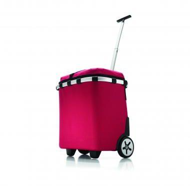 Afbeelding van Rode Reisenthel carrycruiser iso - Boodschappentrolley - Isolerend - Polyester met aluminium voering - Rood