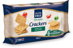 NT FOOD SpA Nutrifree Crackers Senza Glutine 33,4gx6