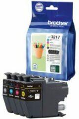 Brother LC-3217VAL inktcartridge Origineel Zwart, Cyaan, Magenta, Geel Multipack