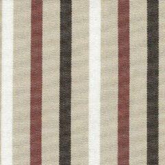 Acrisol Poetry Ciocco 91 gestreept, wit, taupe, bruin stof per meter buitenstoffen, tuinkussens, palletkussens