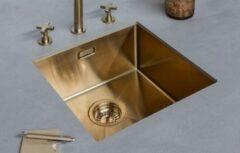 Lanesto Urban Gold / Goud 615 50x40 spoelbak