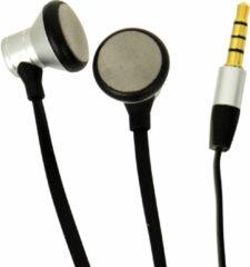 Carpoint oordopjes met microfoon zilver/zwart 120 cm
