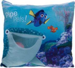 Kamparo kussen Finding Dory: Pipe Pals 40 x 40 cm blauw