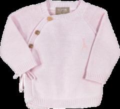 Sophie de Giraf - babyvestje roze