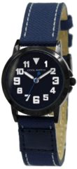 Coolwatch by Prisma CW.248 Kinderhorloge Jort staal/canvas blauw 30 mm