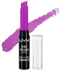 Paarse NYX High Voltage Lipstick 2.5g - 08 Twisted