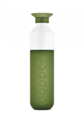 Dopper Dopper Original 0,45L Drinkfles Olijfgroen/Wit