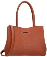 Oranje Charm London Woolwich Shopper brique Damestas