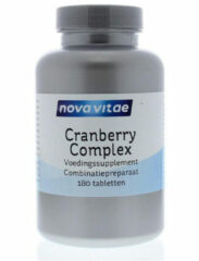 Nova Vitae Cranberry D-mannose complex 180 Tabletten