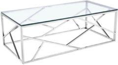 Home affaire Couchtisch »Dave« mit Glasplatte, Breite 120 cm