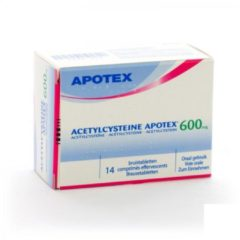 Acetylcysteine Apotex 600Mg
