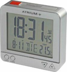 ATRIUM wekker Radiogestuurd Digitaal Zilver - A740-19