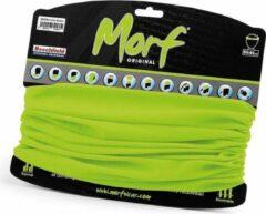 Beechfield Morf lime groen gezichtsmasker faceshield
