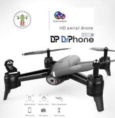 DrPhone - Drone 106G - 2x 1080P Camera - Remote + App Control - Follow Me Functie - Bedienen met Handgebaren - Zwart