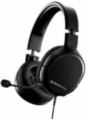 Zwarte SteelSeries Arctis 1 2019 Editie Gaming Headset - PlayStation 5 + Nintendo Switch + PC