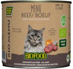 Biofood Bio Organic Menu 200 g - Kattenvoer - Rund Blik