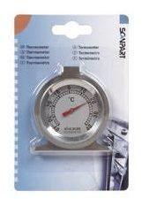 Scanpart koelkastthermometer roestvrij staal Vriezer accessoire Zilver