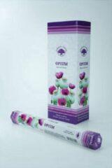 Groene Green Tree Candle Company Green Tree Wierook Opium 20st