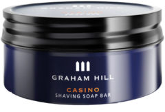 Graham Hill Pflege Shaving & Refreshing Casino Shaving Soap Bar 85 g