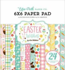 Echo Park - Papierblok Enkelzijdig - Easter Wishes - 15x15cm
