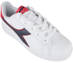 Rode Lage Sneakers Diadora game p gs c8627