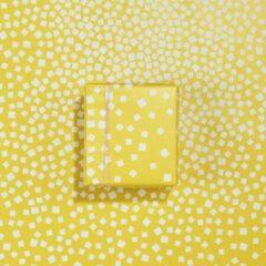 Paperoni - Blocks - luxe cadeaupapier - inpakpapier moederdag - rol met bijpassend koord - geel
