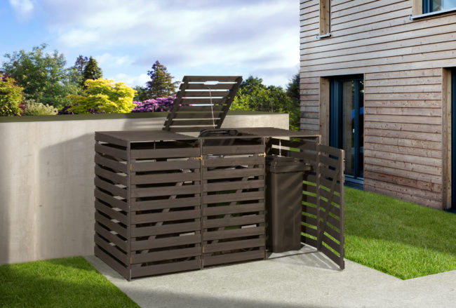 Afbeelding van WEKA   Afvalcontainerbox 2   Antraciet
