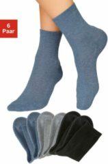 Zwarte H.I.S sokken (6 paar)