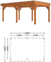 Trendhout   Buitenverblijf Refter XL 6000 mm   Combinatie 6