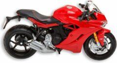Rode Ducati Supersport 1:18 schaalmodel