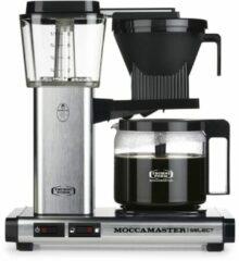 Moccamaster Moccamaste KBG SELECT Koffiefilter apparaat Grijs