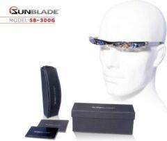 Sunblade SB-300G Fashion - Design zonnebril - Uniek ontwerp zonder glazen!
