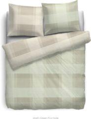 Groene Heckettlane HnL Living Marin - Dekbedovertrek - Velvet Touch - Litsjumeaux extra breed - 260 x 200/220 - Groen