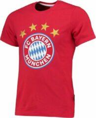 Blauwe Holland Bayern Munchen Logo T-shirt Blanco Katoen Kids-Senior-128