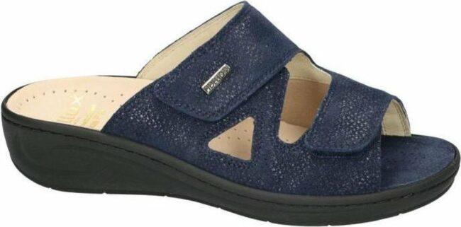Afbeelding van Donkerblauwe Fidelio Hallux -Dames - blauw donker - slippers & muiltjes - maat 41