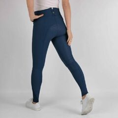 Montar Rijbroek Highwaist Megan 2.0 Full Grip - Mid Blue - 36