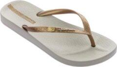Gouden Ipanema Anatomic Brasilidade Dames Slippers - Beige/Gold - Maat 41/42