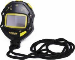 Benson Geheugen Stopwatch - Zwart-Geel