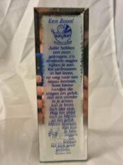 Blauwe Rawa Geschenken Gedicht spiegel een zoon geschenk