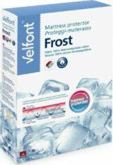 Witte Super Frost Velfont Verkoelende Molton 80 x 190/200 cm