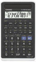 Casio fx-82 SOLAR II Schoolrekenmachine werkt op zonne-energie Zwart Aantal displayposities: 12